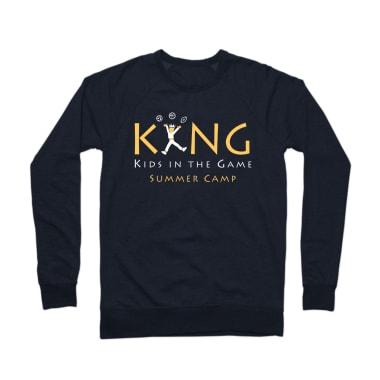 KING Summer Camp Crewneck Sweatshirt