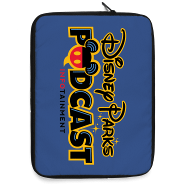 Disney Parks Podcast Logo Gear Laptop Sleeve