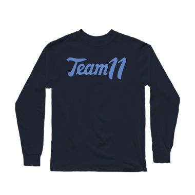 Team 11 Retro Longsleeve Shirt