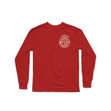 LFD Badge (White) Longsleeve Shirt