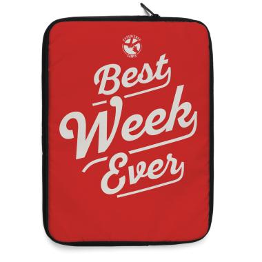 Best Week Ever Laptop Sleeve