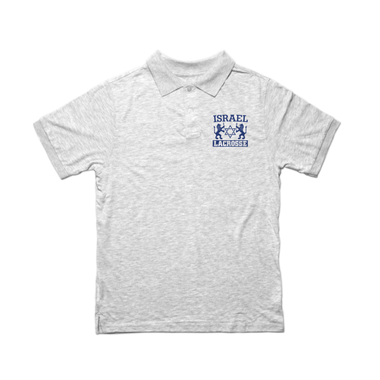 "Israel Lacrosse ""Lions"" Polo"