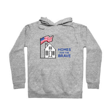 Homes For The Brave Pullover Hoodie