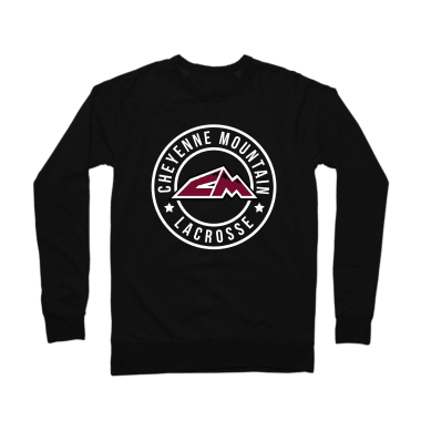 Cheyenne Mountain Lacrosse Crewneck Sweatshirt