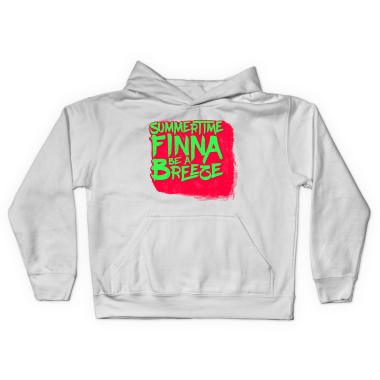 Summertime Finna Be A Breeze Pullover Hoodie