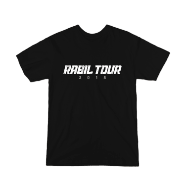 Rabil Tour 2018 Word Mark T-Shirt