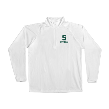 MSU Lacrosse Vintage Performance Pullover