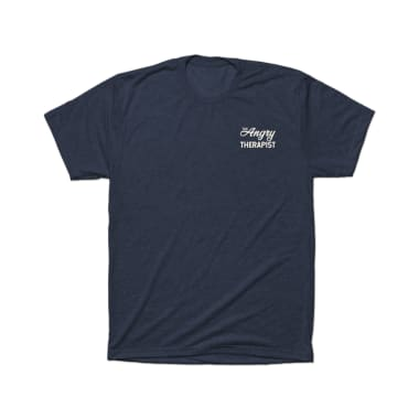 The Angry Therapist Script T-Shirt