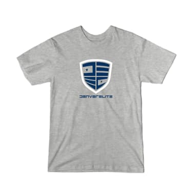 Denver Elite Grey Line Youth T-Shirt