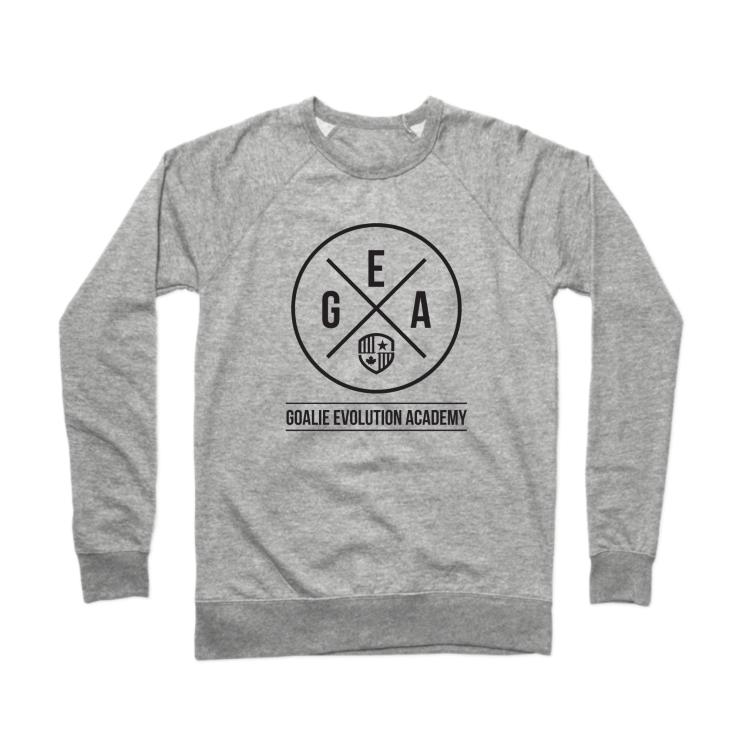GEA Black Logo Crewneck Sweatshirt