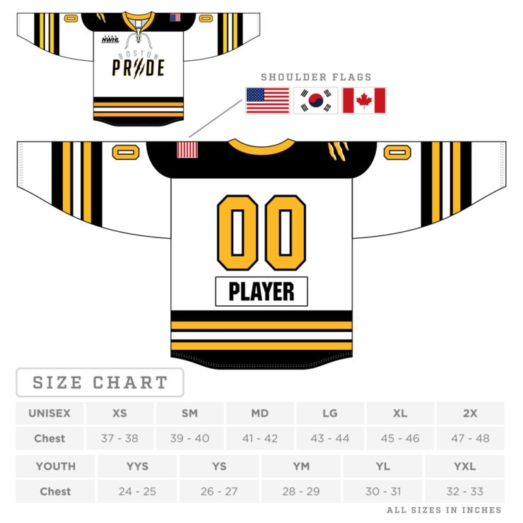 Boston Pride Replica Jersey