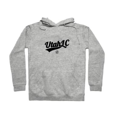 Utah Logo Black Pullover Hoodie
