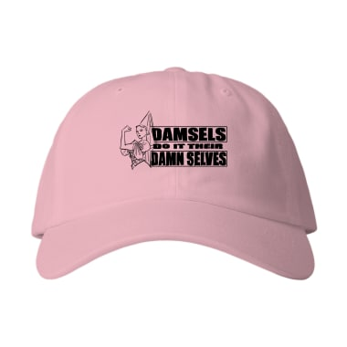 Damsels Do It Their Damn Selves  Baseball Style Hats