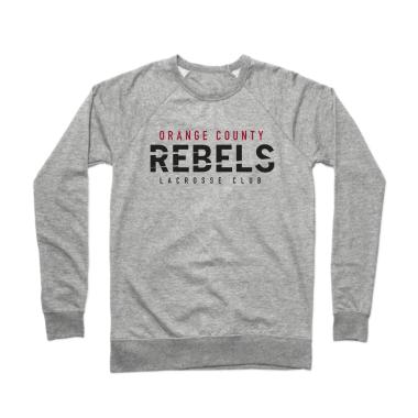 OC Rebels Lacrosse Club Crewneck Sweatshirt