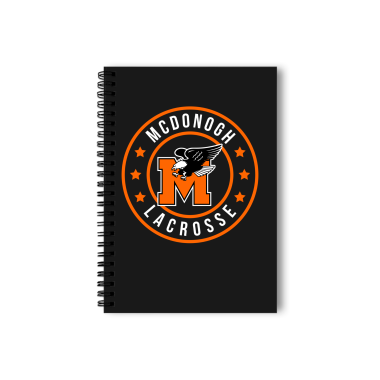 McDonogh Eagles Lax Badge Notebook