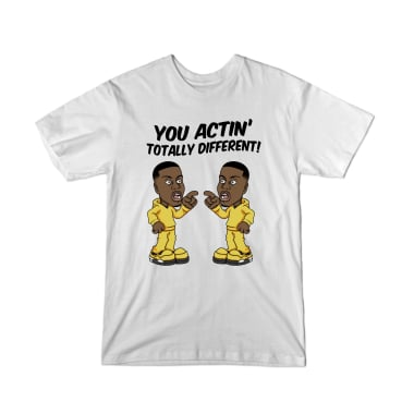 You Actin' Totally Different Youth T-Shirt