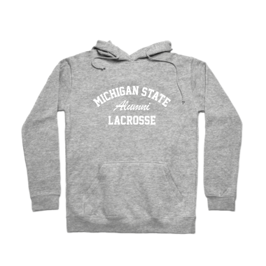 MSU Lacrosse Alumni Pullover Hoodie