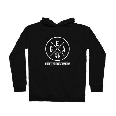 GEA White Logo Pullover Hoodie