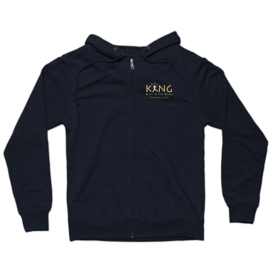 KING Summer Camp Zip Hoodie