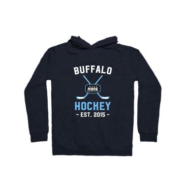 Buffalo Hockey Pullover Hoodie