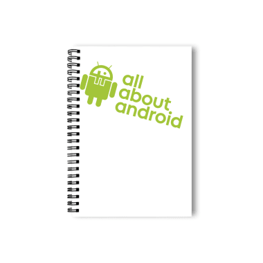 All About Android podcast shirt Notebook