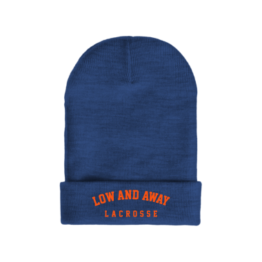 Low and Away Lacrosse Winter/Beanie Hats