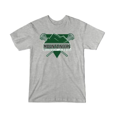 Mountaineers Lacrosse Triangle Youth T-Shirt