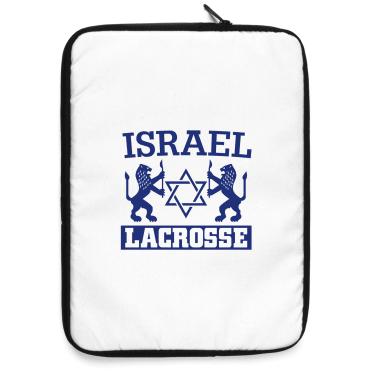 Israel Lacrosse Laptop Sleeve