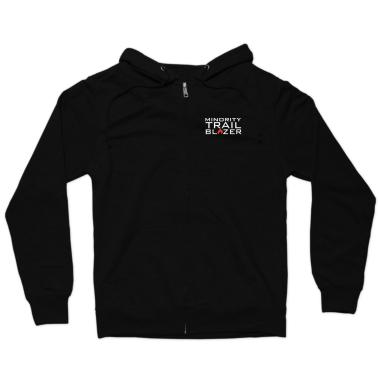 Minority Trail Blazer  Zip Hoodie