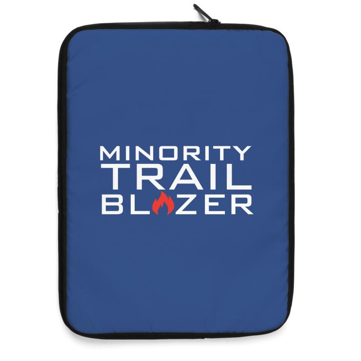 Minority Trail Blazer  Laptop Sleeve