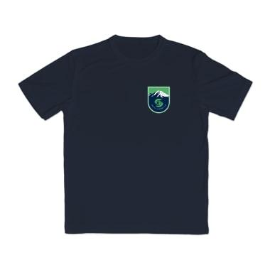Seattle Lacrosse Club Badge Performance T-Shirt