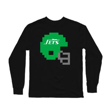 Jets Helmet Longsleeve Shirt