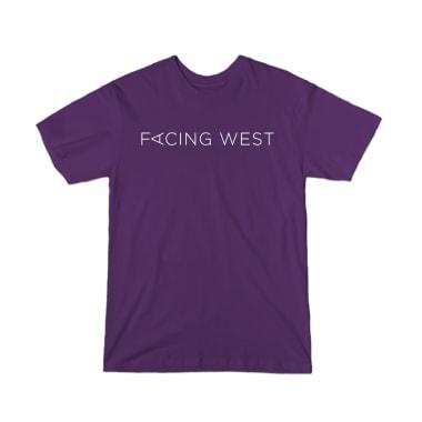 Facing West (White Logo) Youth T-Shirt