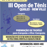III Open de Tênis QUALES / New Ville