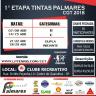 1º Etapa Tintas Palmares  CGT 2018 - Dupla Livre