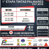 1º Etapa Tintas Palmares CGT 2018 - Iniciante