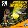 """MASTER 1000 """"INDIAN WELLS"""" INICIANTE"""