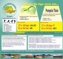 3º Etapa da LipTenis - Recanto do Tenista - Masculino C