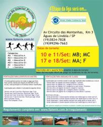 4ª Etapa - Águas de Lindóia (Tênis Clube Estância Azul) - Masculino B
