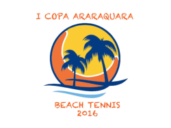 COPA ARARAQUARA DE BEACH TENNIS - FEM - Master 40+