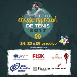 Torneio de Tênis 2017 - Classe Especial