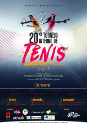 20º Recreativo Interno de Tênis 2017 - Ac 50 B