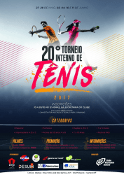 20º Recreativo Interno de Tênis 2017 - Int. B