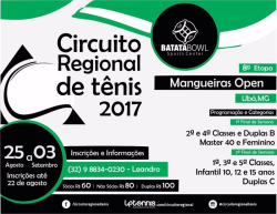8º Etapa 2017 - Mangueiras Open - 4º Classe