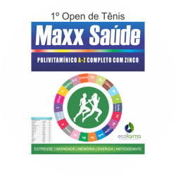 3ª Etapa 2018 - 1º Open de Tênis Maxx Saúde - Categoria B