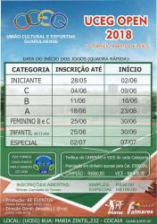 7º Open UCEG 2018 - Categoria Iniciante