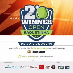 Winner Open de Raquetinha - Categoria Mista A