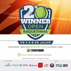 Winner Open de Raquetinha - Categoria Iniciante A
