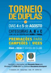 1º Torneio de Duplas 2018 - Categoria A