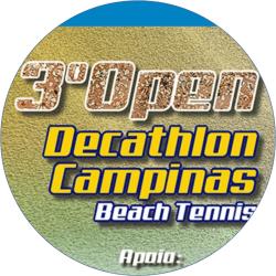 3º Open Decathlon de Beach Tennis - Mista C